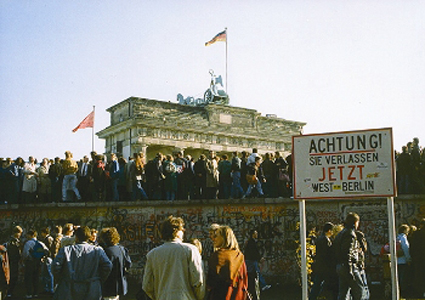 Brandenburger Tor - Berlinmuren